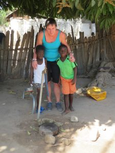stichting care4gambia, watertap, Toos Kuipers