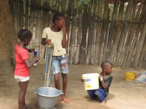 stichting care4gambia, watertap