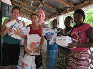 Hulpgoederen stichting care4gambia