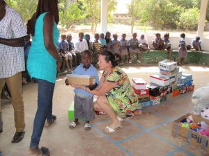 Fayunku Nursery school Gunjur. Stichting Care4Gambia